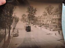 1949 25 Av 86 St Bensonhurst Gravesend Brooklyn Trolley NYC New York City Photo