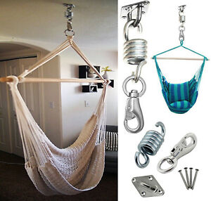 500lb Capacity Hammock Swing Chair Hanging Hooks Kit Stainless Steel Mount Hooks Ebay