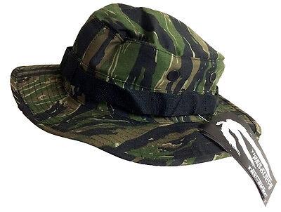Tiger Stripe Boonie Hat by TRU-SPEC 3231 - Cotton Poly Twill - FREE SHIPPING