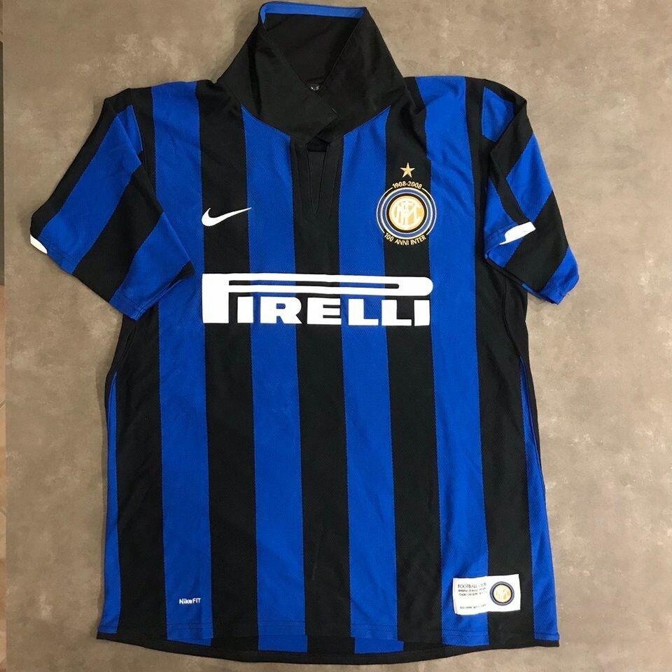Maglia Inter celebrativa centenario 19082008 con Vittoria scudetto 16