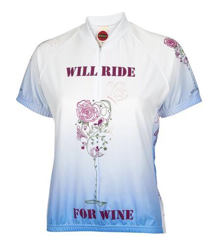 BDI Women/'s Love Wine Cycling Jersey