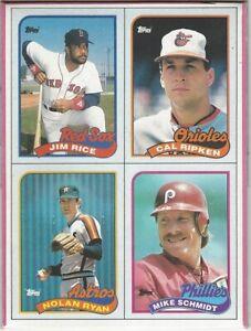 Details About 1989 Topps Baseball Card Box Nolan Ryan Jim Rice Mike Schmidt Cal Ripken