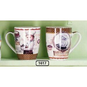 "Hoff Intérieur 1617 Tasse à Anse "" Cook "" Tasse Café Braun 10-5 X 8 cm Gâteau YRHIbFfk-09155452-169628854"