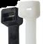 Supreme Heavy Duty 175lb Cable Ties Natural//UV Black 500-1000pc Case Lot