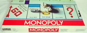Monopoly-Board-Game-1975-Replacement-Parts-amp-Pieces-Vintage-Parker-Brothers-9