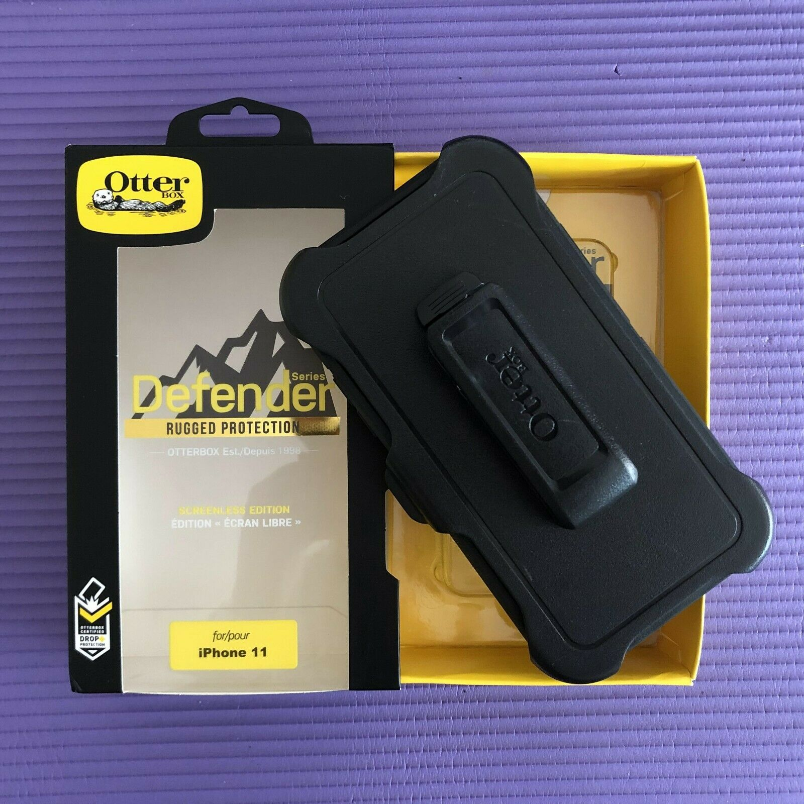 Otterbox Case Clip Cover for Apple iPhone 11 Black New