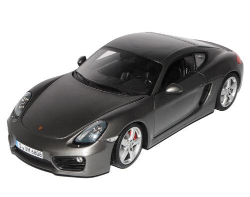 Porsche Cayman 981c Coupe Grau Ab 2011 1//18 Minichamps Modell Auto mit oder ohne