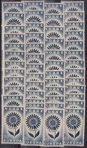 CEPT-Ausgabe-NORWEGEN-1964-Lot-50-Stueck-postfrisch-MW-100-2Y-24-2