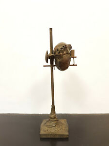 Tres-belle-sculpture-en-Bronze-de-Cesar-Baldaccini-fondeur-Bocquel