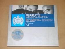 2 CD / SESSIONS TEN / SUBLIMINAL SESSIONS / MIXE PAR MORILLO, ROMERO, NUNEZ /