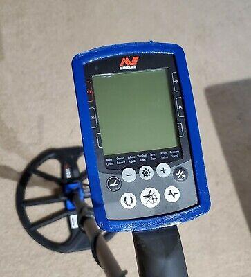 BLUE Minelab Equinox 600//800 Control Box Protector Rubber