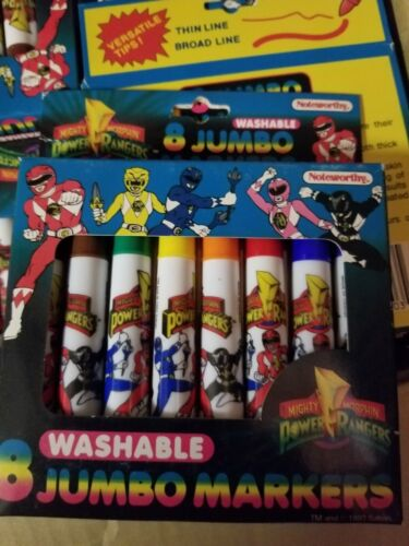Vintage 1993 Power Rangers Marker Set New unopened boxes