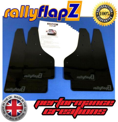 RallyflapZ ford Fiesta MK8 ST ST-Line Bavettes Kit 4 mm noir PVC-RF Anthracite
