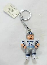 Vintage Dallas cowboys team NFL football lil sports brat key chain 1987