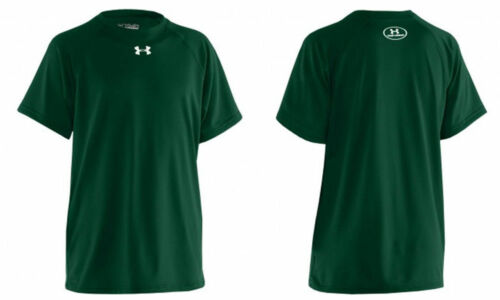 Under Armour Men/'s UA Tech Short Sleeve T-Shirt FORREST GREEN 1228539 301 SM-XL