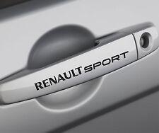 6x Renault Sport Sticker Türgriff / Spiegel Aufkleber Clio Megane Scenic Laguna