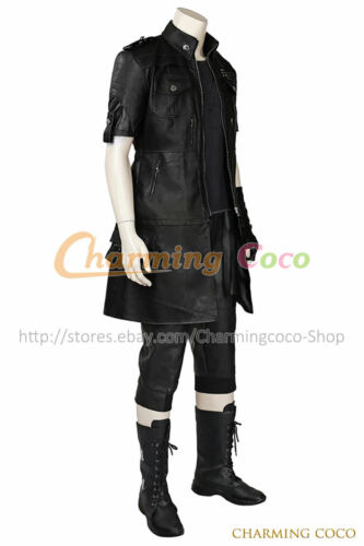 Final Fantasy XV 5 Noctis Lucis Caelum Cosplay Costume Halloween Fancy Dress New