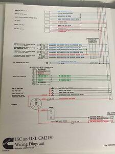 isc and isl cm2150 wire diagram cummins map 4021573 ebay rh ebay com iota isl-54 wiring diagram isl g cm2180 wiring diagram