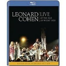 "LEONARD COHEN ""LIVE AT THE ISLE OF WIGHT 1970"" BLU RAY"