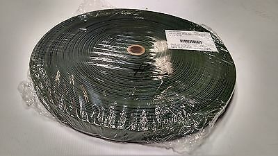 "Webbing Fabric #483 Camo Green 1/""Inch Military Spec 100/' Foot Roll Outdoor #101"