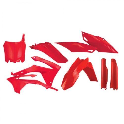 Honda CRF 250 450 13-16 Acerbis plástico frase plástico kunstoffteile rojo Red