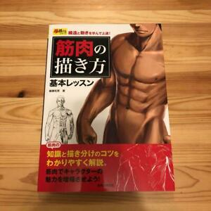 How-To-Draw-Manga-Anime-034-Muscle-034-Technique-Book-Art-Guide