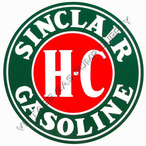 "Sinclair H-C 12"" Vinyl Decal (DC119)"