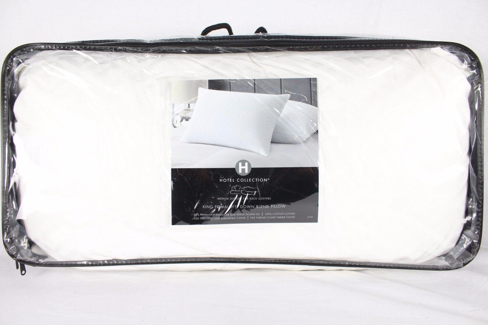 Hotel Collection Primaloft Primaloft Primaloft Down Blend King Pillow W1995 754fa1
