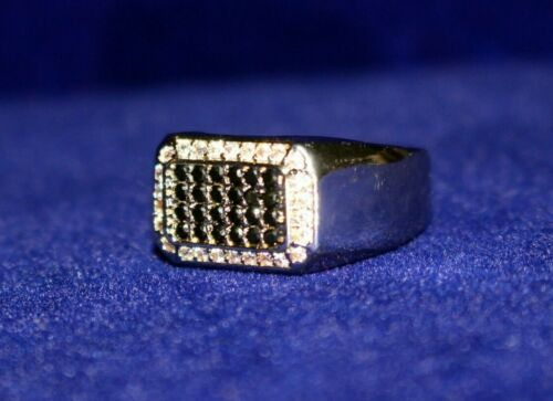 VVS Diamond Mens 9mm Ring Jewellers 2ct Lab Sim size 9 Details about  /Platinum D