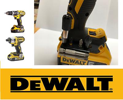 Dewalt belt hook clip /& Magnetic Bit /& Screws Holder 10.8v 18v XR Cordless Drill