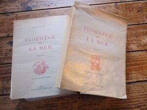 FLORILEGE DE LA MER 2-2 VOL - JEAN MARIE ILLUST H. DIMPRE BOIS BATEAU VAISSEAUX gfohCEiC-08020127-142164436
