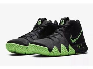 2cb7bab479e6 Nike Kyrie 4 Halloween 9.5 Black Green Rage Blood Drip Dotd Day Dead ...