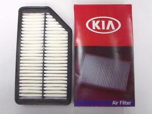 genuine kia rio soul engine air filter cleaner oem 28113. Black Bedroom Furniture Sets. Home Design Ideas