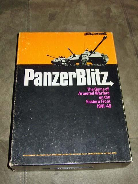 Avalon Hill 1970-PANZER BLITZ jeu-Armoruge guerre front de l'est (Pun) bonus