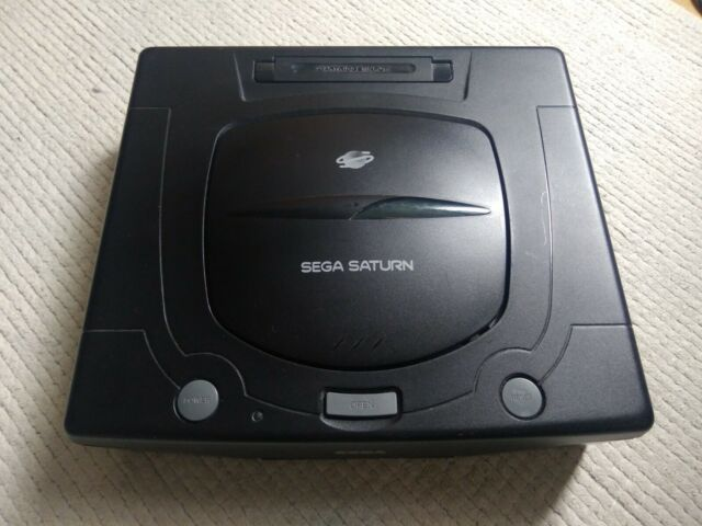 SEGA SATURN PAL CONSOLE (PHOEBE) + RGB CABLE + UK POWER SUPPLY + OFF. CONTROLLER