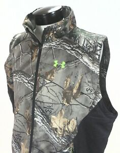 cba2eefa3f Under Armour Vest Realtree Camo Hunting Coldgear Infrared Scent ...