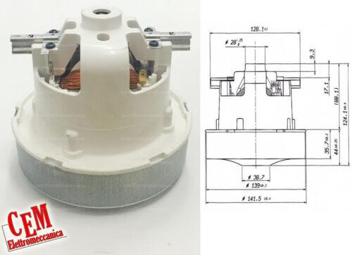 Motore aspirapolvere Sensory Hoover 1500 W 230V bidone centralizzato airtecnica
