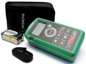 Hitachi ug 50y digital laser meter entfernungsmesser 93254316 ug50y
