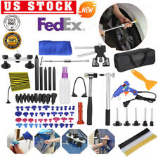 90pc Paintless Dent Removal Puller Lifter Dent Tool Line Board Repair Hammer Set