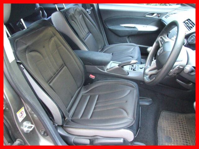 Car Seat Cover Cushion fits Volkwagen VW Caddy Pair black colour