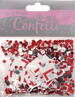 Hen Night Party Do Decorations Metallic Table Confetti Sprinkles L Plate