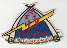 Wartime 1st Air Commando Patch, Aviation Insignia