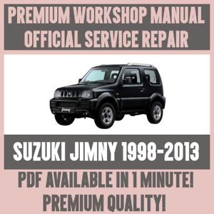 WORKSHOP-MANUAL-SERVICE-amp-REPAIR-GUIDE-for-SUZUKI-JIMNY-1998-2013
