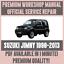 WORKSHOP-MANUAL-SERVICE-amp-REPAIR-GUIDE-for-SUZUKI-JIMNY-1998-2013 thumbnail 1