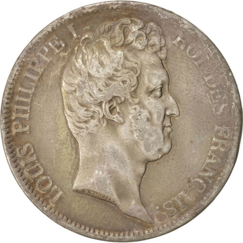 #47114 France, LouisPhilippe, 5 Francs, 1831 MA, Marseille, Silver, KM735.10