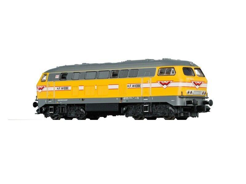 Brawa 61215 diesel locomotora br 216 de la H.F. wiebe, sonido, DC, V, pista n