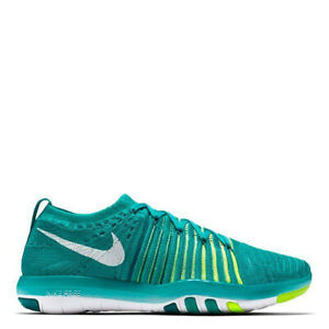 Details about WMNS USED NIKE FREE TRANSFORM FLYKNIT Green Running Shoes 833410 301 Size 9 US