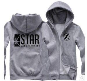 Parallel Universe The STAR Labs UNISEX Hoody ZOOM Reverse Flash Logo Hoodie