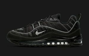 Details about Nike Air Max 98 Black Oil Grey Size 13. 640744-013