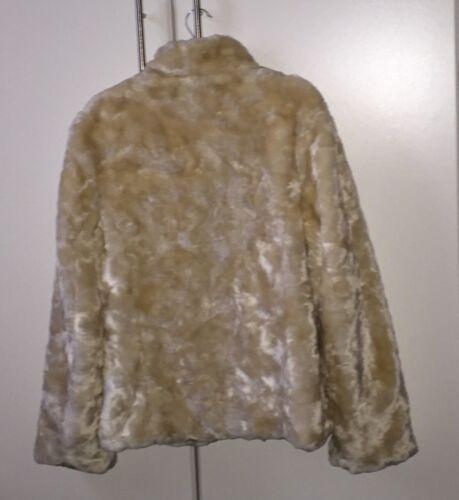 Jacket Matalan Nuovissima Fluffy 12 Giacca Da Cream Size Donna SwCIX
